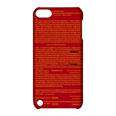 Writing Grace Apple Ipod Touch 5 Hardshell Case With Stand by MRTACPANS