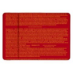 Writing Grace Samsung Galaxy Tab 8 9  P7300 Flip Case by MRTACPANS
