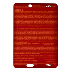 Writing Grace Amazon Kindle Fire Hd (2013) Hardshell Case by MRTACPANS