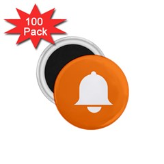Bell Orange Copy 1 75  Magnets (100 Pack)  by AnjaniArt