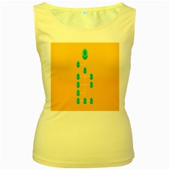 A Community Manager Los Que Aspirants Women s Yellow Tank Top by AnjaniArt