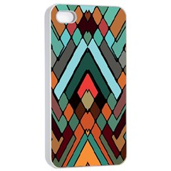 Abstract Mosaic Color Box Apple Iphone 4/4s Seamless Case (white) by AnjaniArt