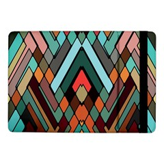 Abstract Mosaic Color Box Samsung Galaxy Tab Pro 10 1  Flip Case by AnjaniArt