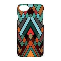 Abstract Mosaic Color Box Apple Iphone 7 Hardshell Case
