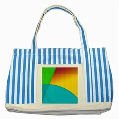 Bok Striped Blue Tote Bag