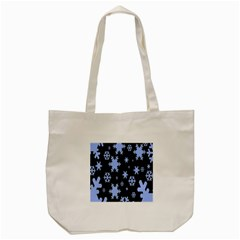 Blue Black Resolution Version Tote Bag (cream) by AnjaniArt
