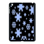 Blue Black Resolution Version Apple iPad Mini Case (Black) Front