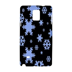 Blue Black Resolution Version Samsung Galaxy Note 4 Hardshell Case by AnjaniArt