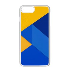 Box Yellow Blue Red Apple Iphone 7 Plus White Seamless Case