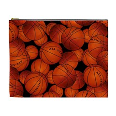 Basketball Sport Ball Champion All Star Cosmetic Bag (xl) by AnjaniArt