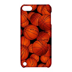 Basketball Sport Ball Champion All Star Apple Ipod Touch 5 Hardshell Case With Stand by AnjaniArt