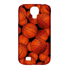 Basketball Sport Ball Champion All Star Samsung Galaxy S4 Classic Hardshell Case (pc+silicone) by AnjaniArt