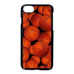 Basketball Sport Ball Champion All Star Apple Iphone 7 Seamless Case (black)