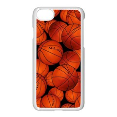 Basketball Sport Ball Champion All Star Apple Iphone 7 Seamless Case (white) by AnjaniArt