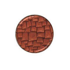 Chocolate Hat Clip Ball Marker by AnjaniArt