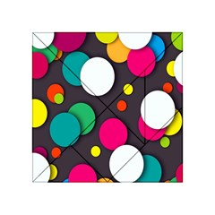 Color Balls Acrylic Tangram Puzzle (4  X 4 ) by AnjaniArt