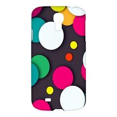 Color Balls Samsung Galaxy S4 I9500/i9505 Hardshell Case by AnjaniArt