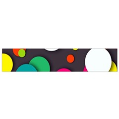 Color Balls Flano Scarf (small) by AnjaniArt