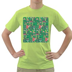 Animal Cage Green T Shirt
