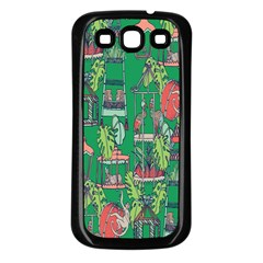 Animal Cage Samsung Galaxy S3 Back Case (black) by AnjaniArt