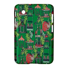 Animal Cage Samsung Galaxy Tab 2 (7 ) P3100 Hardshell Case  by AnjaniArt