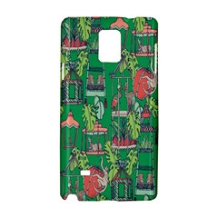 Animal Cage Samsung Galaxy Note 4 Hardshell Case by AnjaniArt
