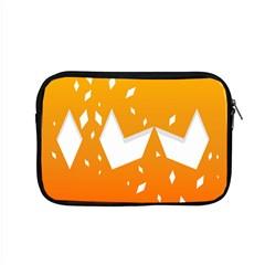 Cute Orange Copy Apple Macbook Pro 15  Zipper Case by AnjaniArt
