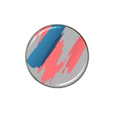 Colorful Hat Clip Ball Marker by AnjaniArt