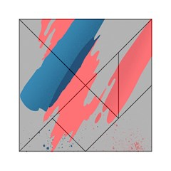 Colorful Acrylic Tangram Puzzle (6  X 6 ) by AnjaniArt
