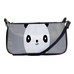 Cute Panda Animals Shoulder Clutch Bags by AnjaniArt