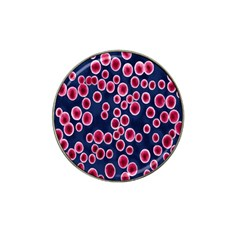 Cute Red Ball Hat Clip Ball Marker by AnjaniArt