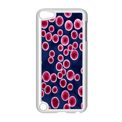 Cute Red Ball Apple Ipod Touch 5 Case (white) by AnjaniArt