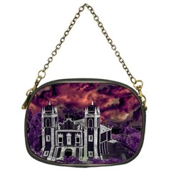 Fantasy Tropical Cityscape Aerial View Chain Purses (one Side)  by dflcprints