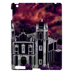 Fantasy Tropical Cityscape Aerial View Apple Ipad 3/4 Hardshell Case by dflcprints