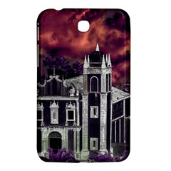 Fantasy Tropical Cityscape Aerial View Samsung Galaxy Tab 3 (7 ) P3200 Hardshell Case  by dflcprints
