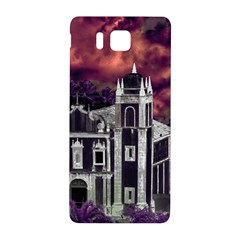Fantasy Tropical Cityscape Aerial View Samsung Galaxy Alpha Hardshell Back Case by dflcprints