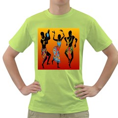 Dancing Green T Shirt