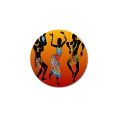 Dancing Golf Ball Marker (4 Pack) by AnjaniArt