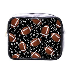 Football Player Mini Toiletries Bags by AnjaniArt