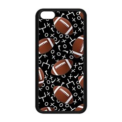 Football Player Apple Iphone 5c Seamless Case (black) by AnjaniArt