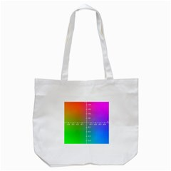 Formula Plane Rainbow Tote Bag (white) by AnjaniArt