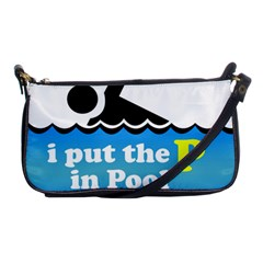 Funny Swiming Water Shoulder Clutch Bags by AnjaniArt