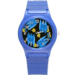 Mackerel Meal Round Plastic Sport Watch (s) by Valentinaart