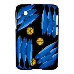 Mackerel Meal Samsung Galaxy Tab 2 (7 ) P3100 Hardshell Case  by Valentinaart