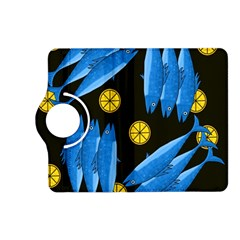 Mackerel Meal Kindle Fire Hd (2013) Flip 360 Case by Valentinaart