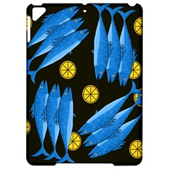 Mackerel Meal Apple Ipad Pro 9 7   Hardshell Case by Valentinaart