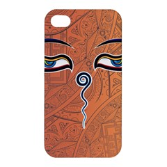 Face Eye Apple iPhone 4/4S Premium Hardshell Case