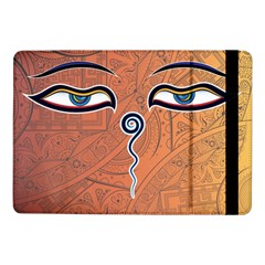 Face Eye Samsung Galaxy Tab Pro 10 1  Flip Case by AnjaniArt