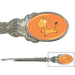 Giraffe Copy Letter Openers by AnjaniArt
