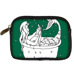 Green Mermaid Digital Camera Cases by AnjaniArt